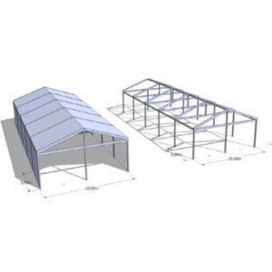 Hala namiotowa 10 m szerokość