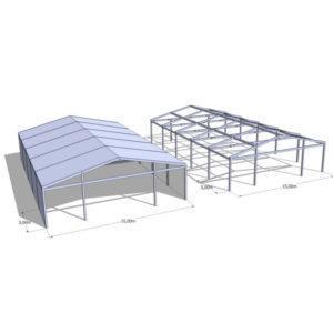 Hala namiotowa 15m  szerokość
