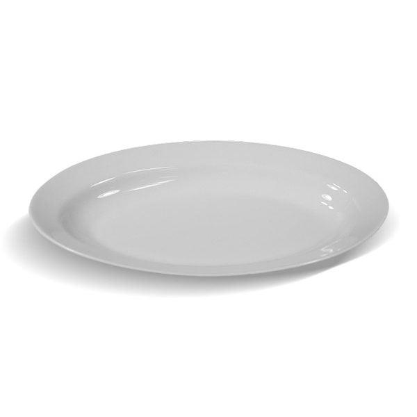 PÓŁMISEK OWALNY LUBIANA 600x600 - Półmisek porcelanowy owalny 33cm Lubiana Biały