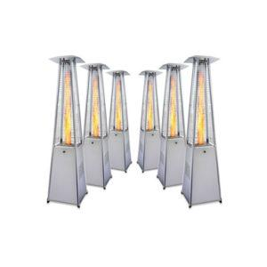 "Promiennik ""Piramida"" lampa grzewcza"