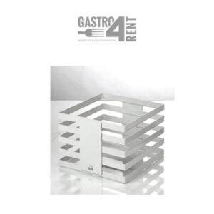 Stojak bufetowy  ZIEHER  24x24x13,5 cm Squareline Biały
