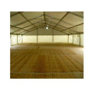 Hala namiotowa podłoga drewniana