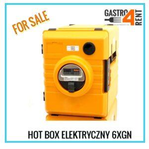 Hot Box elektryczny RIEBER  6XGN