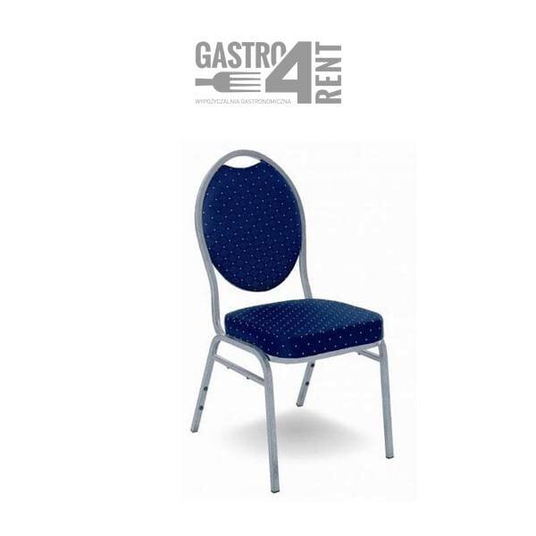 krzesło bankietowe 600x600 - Krzesło bankietowe granatowe