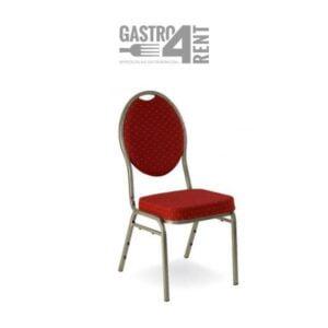 Krzesło bankietowe VIP bordowe