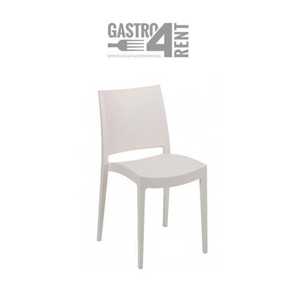 krzesło białe spectro 1 600x600 - Krzesło elegante Specto białe