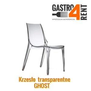Krzesło Przezroczyste transparentne