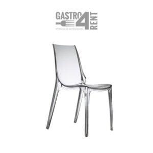 Krzesło Przezroczyste  Vanity