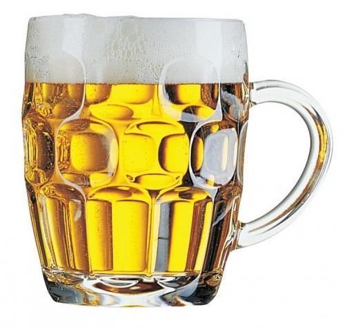 kufel do piwa 2 - Kufel do piwa  Britania 570ml z uchem