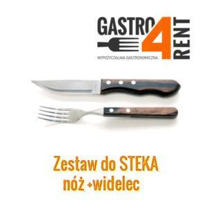 Nóż i widelec do steka