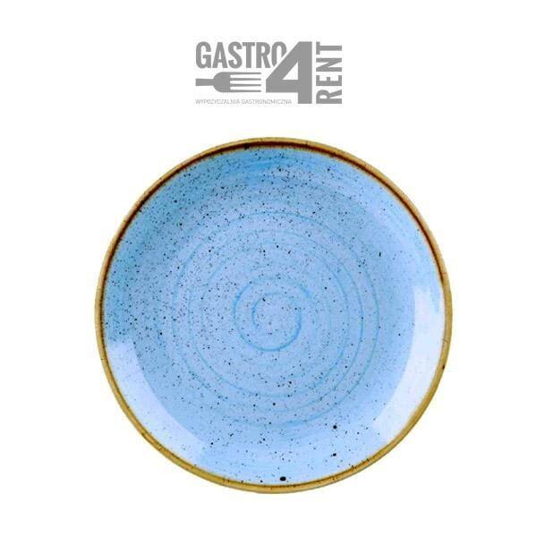 talerz 32 cm niebieski 600x600 - Talerz  Churchill Niebieski