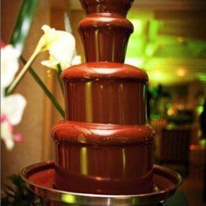 Fontanna czekoladowa 60 cm +2,5 kg czekolady