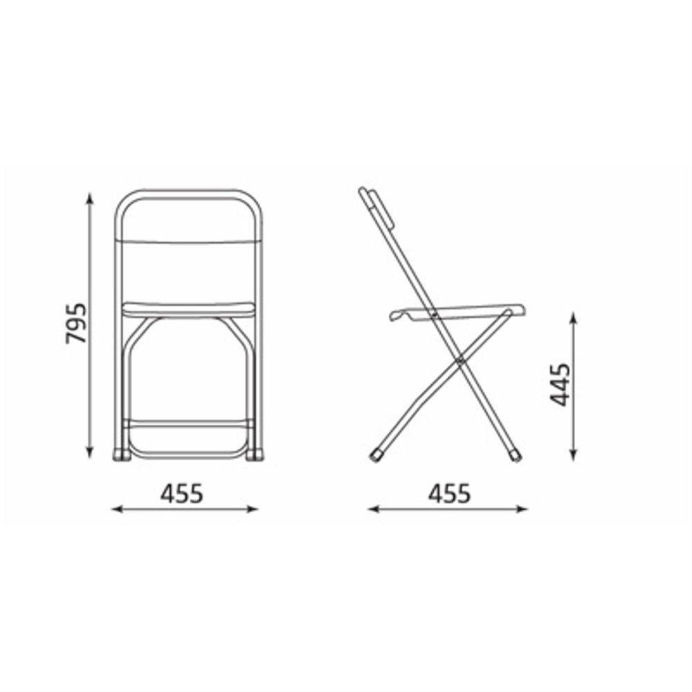 krzesło-wymiary