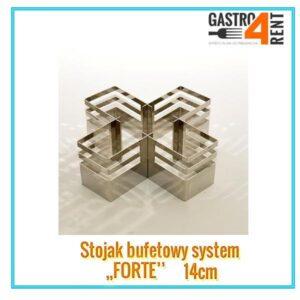 """Stojak bufetowy """"Forte"""" mały  14cm"""