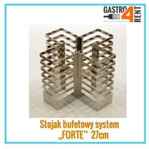 """Stojak bufetowy """"Forte"""" średni  27 cm"""