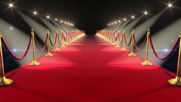 czerwony dywan wynajem 600x338 - Wykładzina targowa  podłogowa