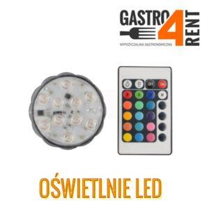 Oświetlenie LED  RGB lampka