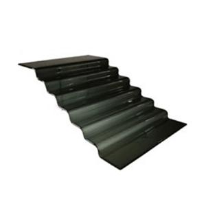 kaskada czarna schody