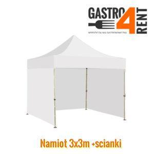Namiot biały 3x3m