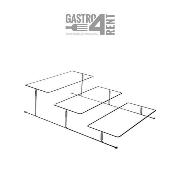 stelaz aps etazerka 3poziomowa 600x600 - stelaż aps etażerka 1/3 poziomowa
