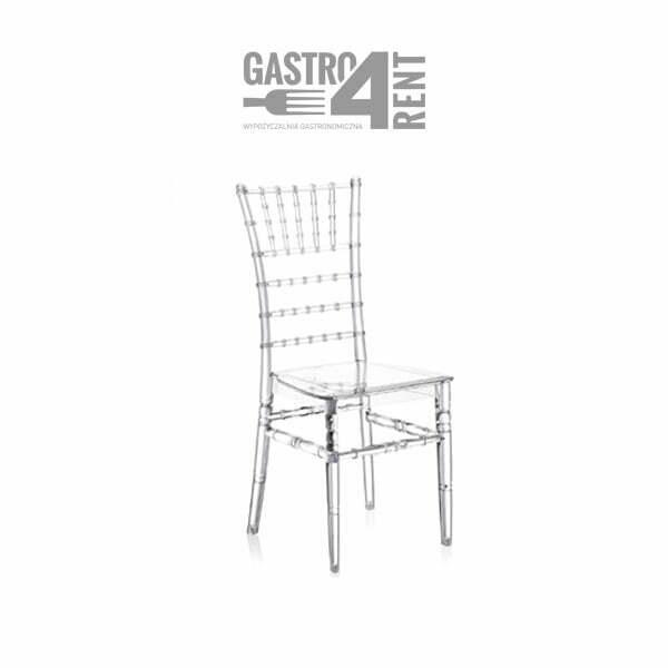 Krzeslo weselne CHIAVARI transparentne - Krzesło  CHIAVARI  transparentne