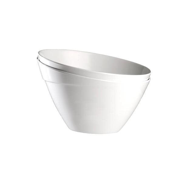 Misa okrągła melamina biala Balance 600x600 - Misa okrągła  melamina biała aps balance