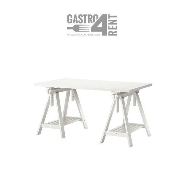 """stol bialy blat kobylki 2 600x600 - Stół gastronomiczny 150x 75  ,,Design"""""""