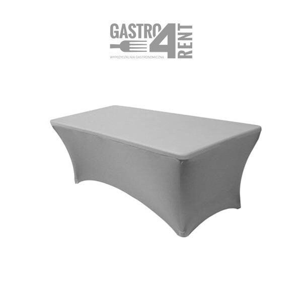 Pokrowiec elastyczny na stół prostokątny 150 szary 600x600 - Pokrowiec elastyczny na stół prostokątny 150 szary