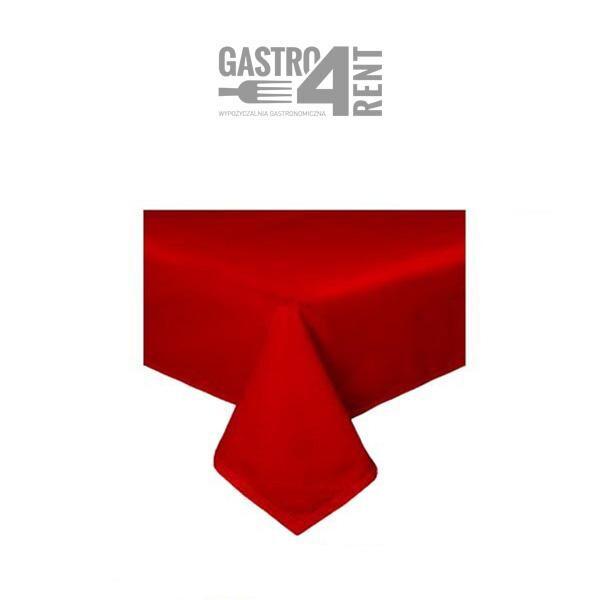 czerwony obrus prostokatny 2 600x600 - Obrus prostokątny 2,0 m x 1,40 m  czerwony