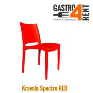 Krzesło czerwone  Specto  RED