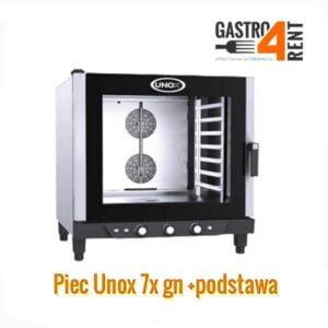 Piece konwekcyjno parowy UNOX 7 g/n  +podstawa