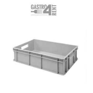 Pojemnik -skrzynka transportowa  60 cm x 40 cm x 14 cm