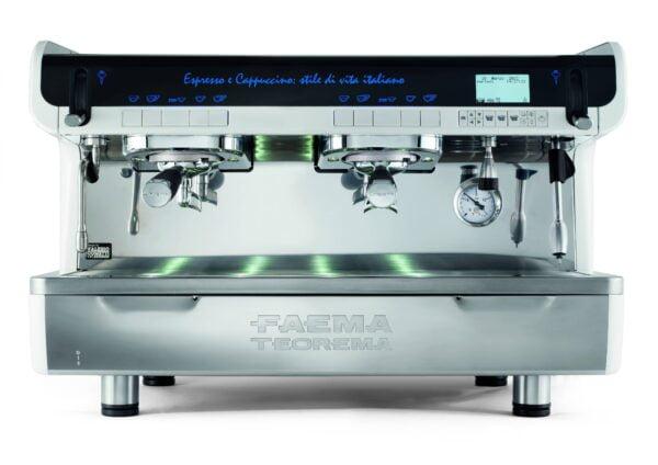 ekspres do kawy 600x424 - Ekspres ciśnieniowy FAEMA TEOREMA na  2 Kolby