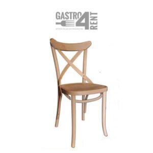 Krzesło drewniane krzesło rustykalne boho