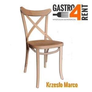 Krzesło drewniane Marco Wood