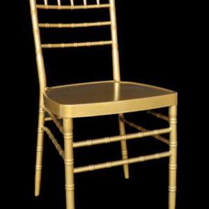 Złote krzesło   Chivari