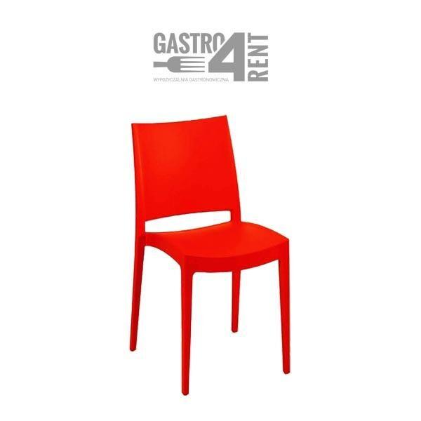 krzeslo spectro red 600x600 - Krzesło czerwone  Specto