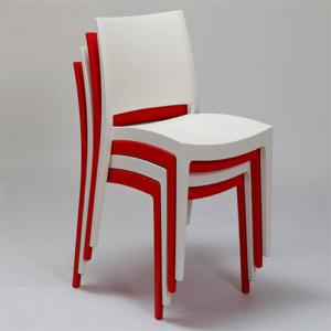 Krzesło czerwone  Specto