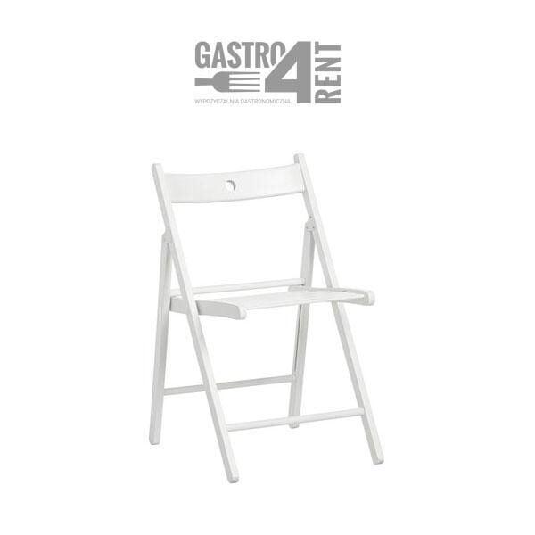 krzeslo 600x600 - Krzesło drewniane składane białe