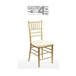 Szampańskie krzesło   Chivari z poduszką