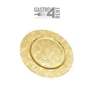 Złoty podtalerz baza 33 cm