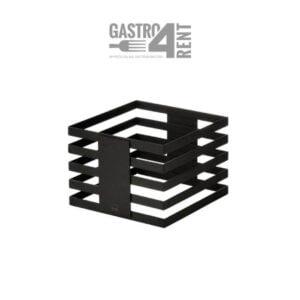 Stojak bufetowy  ZIEHER  24x24x13,5 cm Squareline Czarny