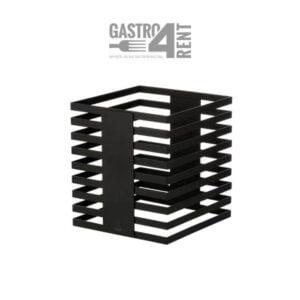 Stojak bufetowy  ZIEHER  24x24x25,5 cm Squareline Czarny