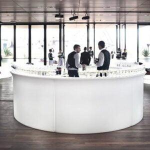 Bar mobilny  led   Break Bar podświetlany bar