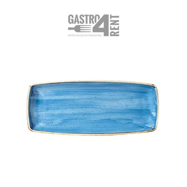 polmisek niebieski churchill 600x600 - Półmisek  Churchill Niebieski 35cmx 18 cm