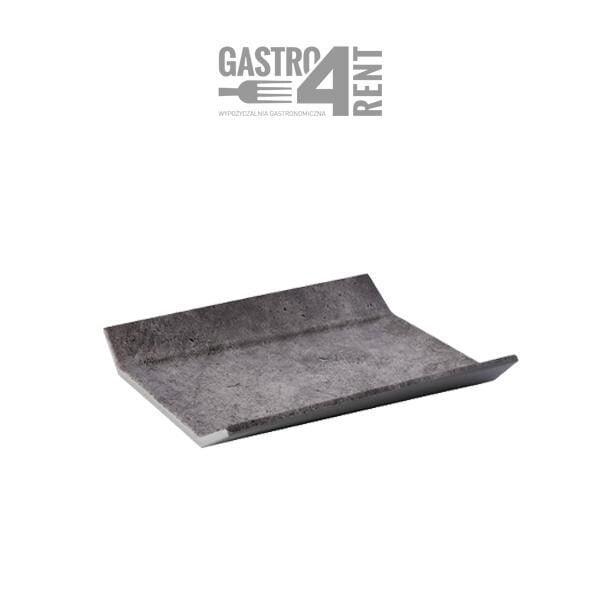 Taca melamina kolor betonu polowka 1 600x600 - Taca melamina G/N  1/2 kolor betonu