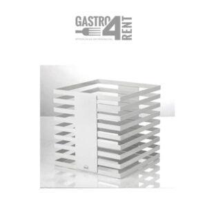 Stojak bufetowy  ZIEHER  24x24x25,5 cm Squareline Biały