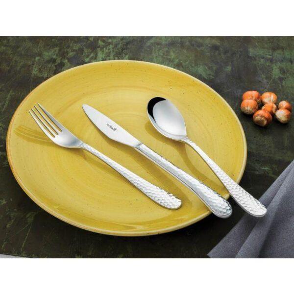 lima2 600x600 - Sztućce SOLA LIMA  MŁOTKOWEwidelec widelczyk nóż łyżka łyżeczka