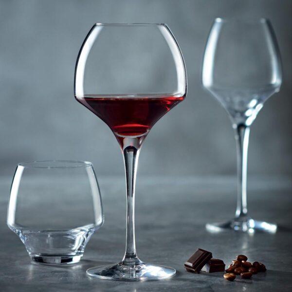 openup 600x600 - Kieliszek do wina czerwonego C&S  open up 550 ml