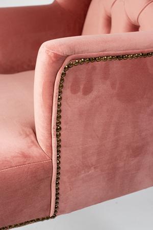obicie1 - Ławka Glamour pikowana + fotele